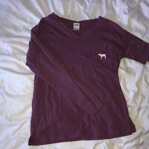 mauve pink shirt